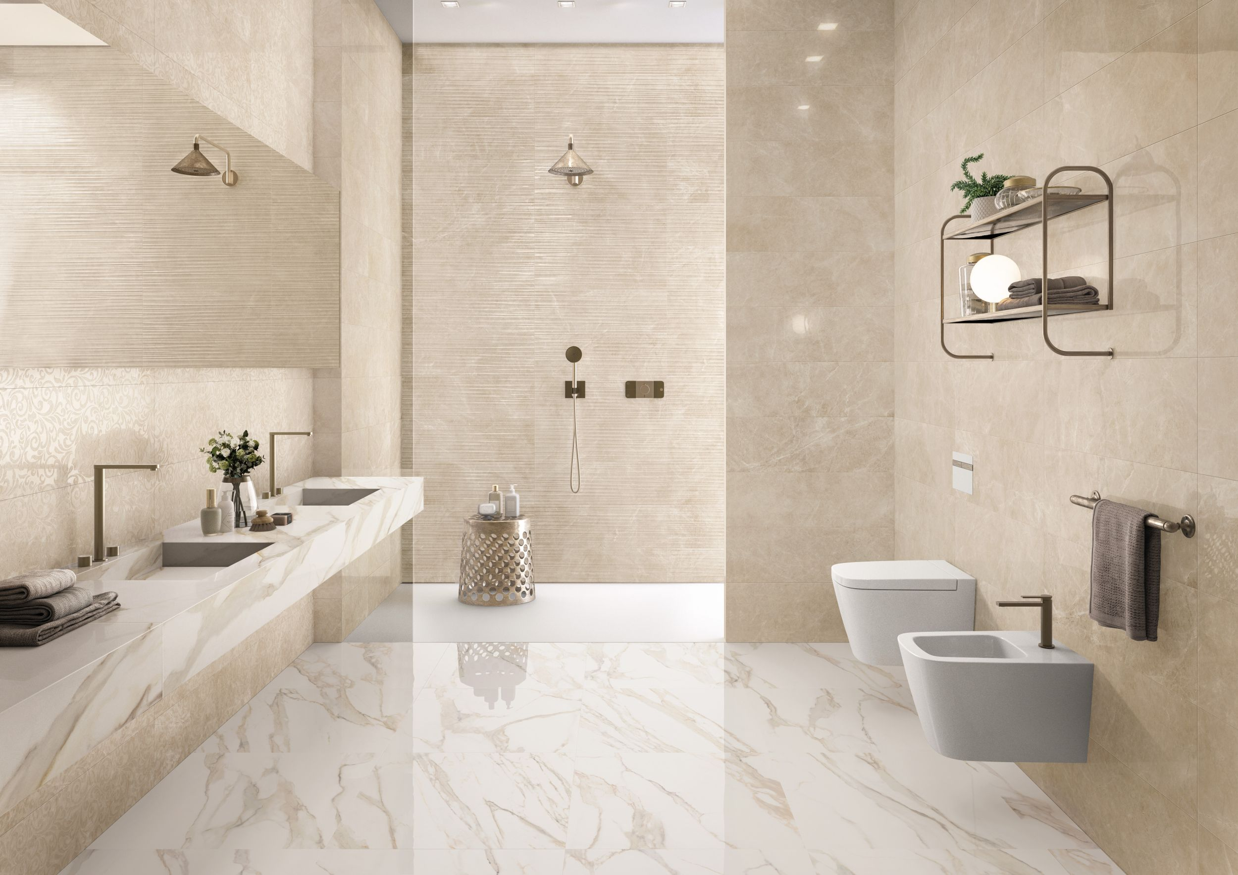 Faianta Baie Purity of Marble Supergres